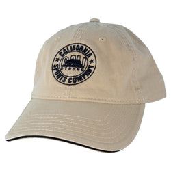 CSC Dad Hat Black Tan