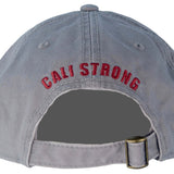 CSC Dad Hat Burgundy Grey - Dad Hats - CALI Strong