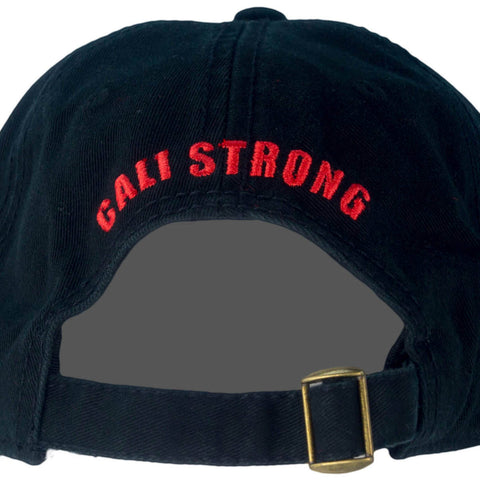 04cbd8bcdef ... CSC Dad Hat Black Red - Dad Hats - CALI Strong