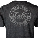 CSC Classic Performance T-shirt Heather Black Reflective - T-Shirt - CALI Strong