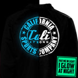CALI Strong Classic Glow In The Dark Coach Jacket Black - Jacket - CALI Strong