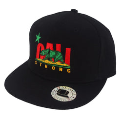 CALI Strong Original Rasta Flat Bill Snapback Cap - Headwear - CALI Strong