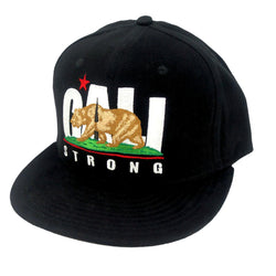 CALI Strong Original Flat Bill Snapback Cap