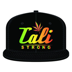 CALI Dream Rasta Flat Bill Snapback