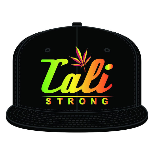 CALI Dream Rasta Flat Bill Snapback - Headwear - CALI Strong