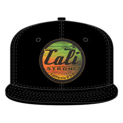 Wood Rasta Flat Bill Snapback - Headwear - CALI Strong