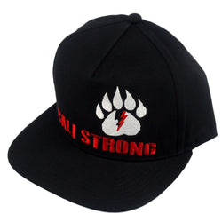 CALI Strong Bear Claw Flat Bill Snapback - Headwear - CALI Strong