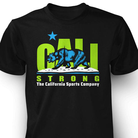 CALI Strong Original Lime Black T-Shirt - T-Shirt - CALI Strong