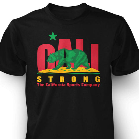 CALI Strong Original Rasta T-Shirt - T-Shirt - CALI Strong