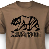 CALI Strong See Thru Bear Black Sand T-shirt - T-Shirt - CALI Strong
