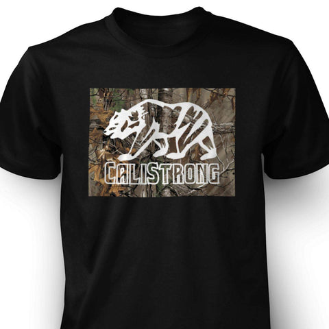 CALI Strong Tree Camo T-shirt - T-Shirt - CALI Strong