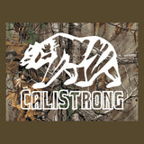 CALI Strong Tree Camo T-shirt Olive - T-Shirt - CALI Strong
