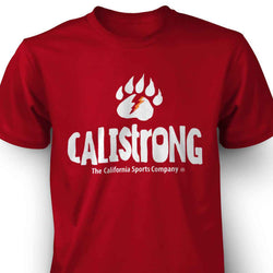 CALI Strong Bear Claw T-shirt Red - T-Shirt - CALI Strong