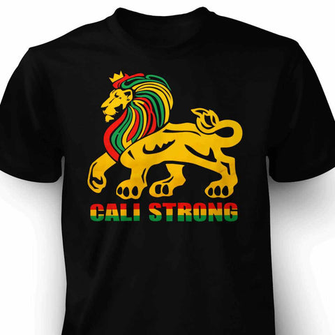 CALI Strong Royal Rasta T-Shirt - T-Shirt - CALI Strong