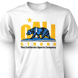 CALI Strong Original Bruin White T-Shirt - T-Shirt - CALI Strong