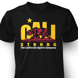 CALI Strong Original Trojan Black T-Shirt
