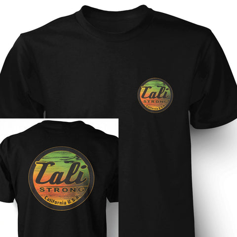 Wood Rasta T-shirt - T-Shirt - CALI Strong