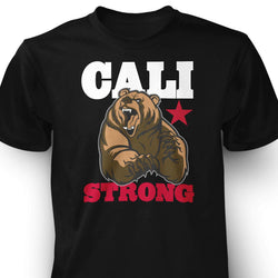 CALI Strong Mean Bear T-shirt