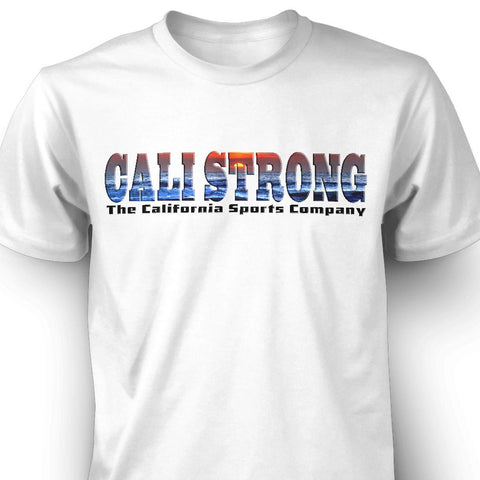 CALI Strong Sunset T-shirt - T-Shirt - CALI Strong