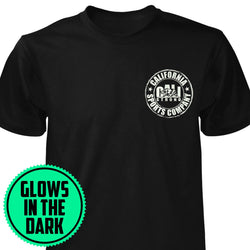 CSC Patch Glow In The Dark T-shirt Black - T-Shirt - CALI Strong