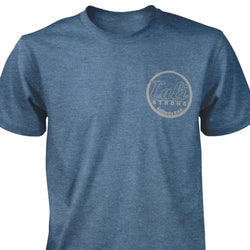 CALI Classic Heather T-shirt Indigo - T-Shirt - CALI Strong