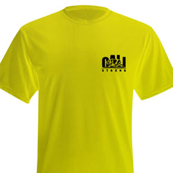 CALI Strong Performance T-Shirt Yellow - T-Shirt - CALI Strong