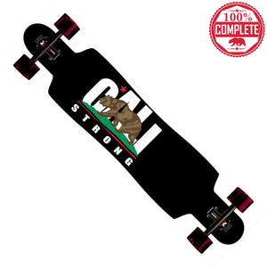 "CALI Strong Longboard Drop Through Complete 9.5"" x 42.75"" - Drop Through Longboard - CALI Strong"