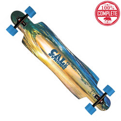 "CALI Strong Wave State Longboard Drop Through Complete 9.5"" x 42.75"""
