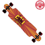 "CALI Strong Original Trojan Longboard Drop Through Complete 9.5"" x 42.75"" - Drop Through Longboard - CALI Strong"