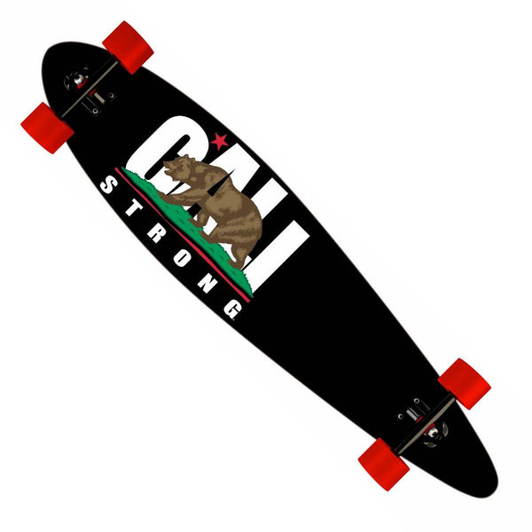 "CALI Strong Longboard Pintail Complete 9.25"" x 39.25"" - Pintail Longboard - CALI Strong"