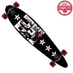 "CALI Legend Longboard Pintail Complete 9.25"" x 39.25"""