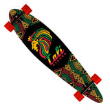 "Lord Rasta Longboard Pintail Complete 9.25"" x 39.25"" - Pintail Longboard - CALI Strong"
