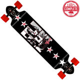 "CALI Legend Longboard Double Drop Through Complete 9"" x 41"" - Double Drop Longboard - CALI Strong"