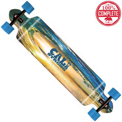 "CALI Strong Wave State Longboard Double Drop Through Complete 9"" x 41"" - Double Drop Longboard - CALI Strong"