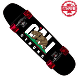"CALI Strong Skateboard Cruiser Complete 8.5"" x 32"""