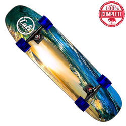 "CALI Strong Wave Skateboard Cruiser Complete 8.5"" x 32"""