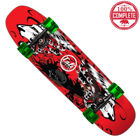 "Red Lion CALI Strong Skateboard Cruiser Complete 8.5"" x 32"" - Cruisers - CALI Strong"