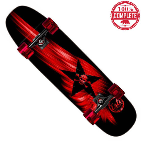 "Red Wing Skateboard Cruiser Complete 8.5"" x 32"" - Cruisers - CALI Strong"