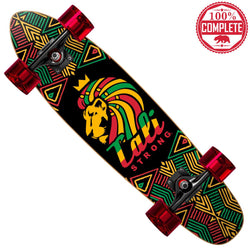 "Lord Rasta Mini Cruiser Throwback Complete 7"" x 28"" - Mini Cruiser Throwback - CALI Strong"