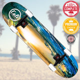 CALI Strong Wave Skateboard Trick Premium - Trick Skateboard - CALI Strong