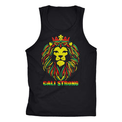 King Rasta Tank Top - Tank Top - CALI Strong