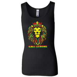 King Rasta Women's 2x1 Rib Tank Top - Tank Top - CALI Strong
