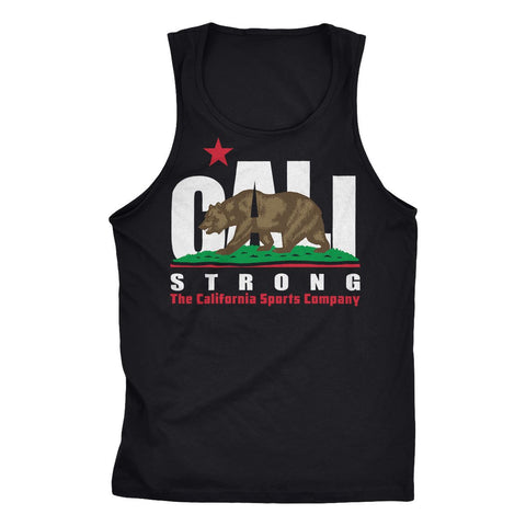 CALI Strong Original Black Tank Top - Tank Top - CALI Strong