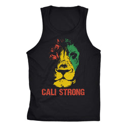 Triangle Rasta Tank Top - Tank Top - CALI Strong