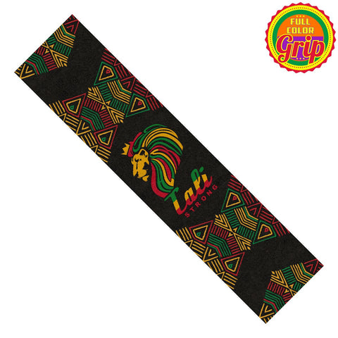 Lord Rasta Grip Tape Longboard Combo - Grip Tape Combo - CALI Strong