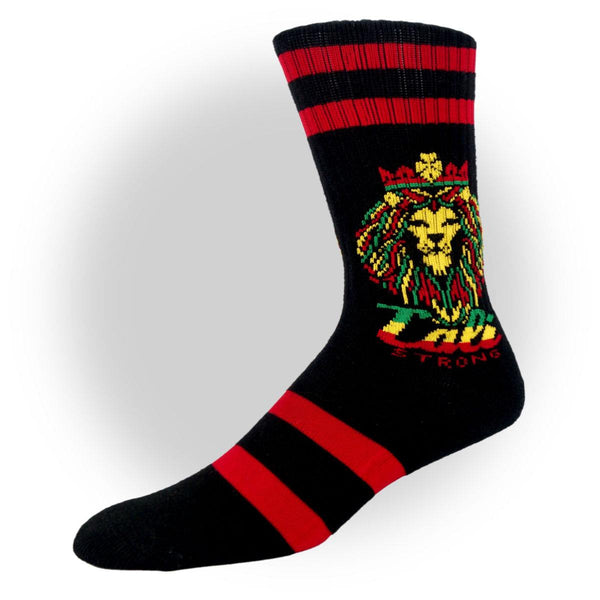 CALI Strong King Rasta Crew Socks - Socks - CALI Strong