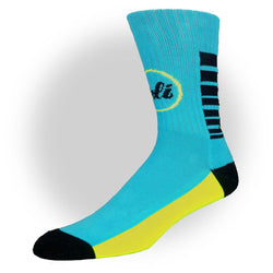 CALI Strong Electric Blue Crew Socks - Socks - CALI Strong