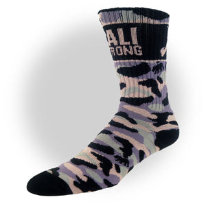 CALI Strong Grey Camo Crew Socks - Socks - CALI Strong