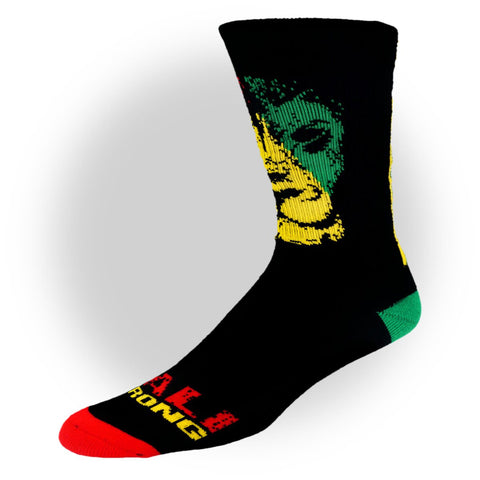 Triangle Rasta Socks - Socks - CALI Strong