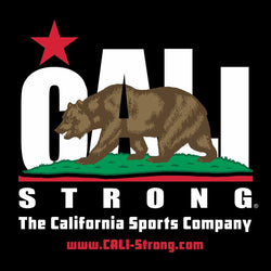 CALI Strong Sticker 4 inch Square Vinyl Decal
